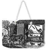 Farming: Threshing Weekender Tote Bag