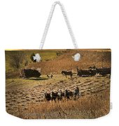 Farming To Beat The Storm Weekender Tote Bag