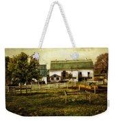 Farmland In Intercourse - Pennsylvania Weekender Tote Bag