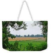 Farmland View Weekender Tote Bag