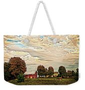 Farms From The Fifties Weekender Tote Bag