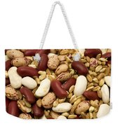 Farro And Beans Weekender Tote Bag by Fabrizio Troiani
