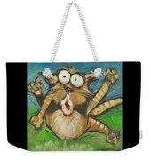 Farting Feline Weekender Tote Bag