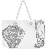 Fashion: Chemisette, 1854 Weekender Tote Bag
