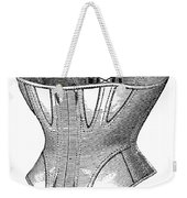 Fashion: Corset, 1869 Weekender Tote Bag