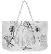 Fashion: Corset, C1850 Weekender Tote Bag