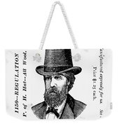 Fashion: Granger Hat Weekender Tote Bag