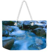 Fast-flowing River Weekender Tote Bag