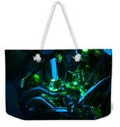 Fat Boy Abstract Weekender Tote Bag