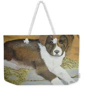 Fat Puppy Weekender Tote Bag