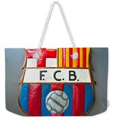 Fc Barcelona Symbol Weekender Tote Bag