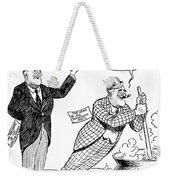 F.d. Roosevelt Cartoon Weekender Tote Bag