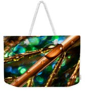 Feather Abstract Weekender Tote Bag