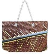 Feather Or Fern Weekender Tote Bag