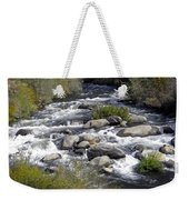 Feather River White Water Weekender Tote Bag