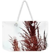 Feather Top Weekender Tote Bag