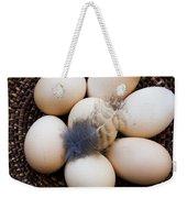 Feathered Eggs Weekender Tote Bag