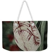 Feathered Markings Weekender Tote Bag
