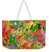 Feathered Nest Three Weekender Tote Bag