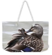 Feathers In Place Weekender Tote Bag
