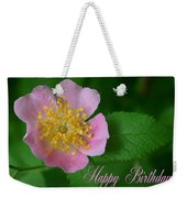 February Birthday Weekender Tote Bag
