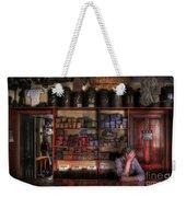 Fed Up Weekender Tote Bag by Yhun Suarez