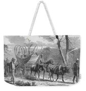 Federal Camp Contraband, 19th Century Weekender Tote Bag