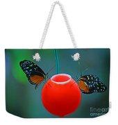 Feeding Butterflies Weekender Tote Bag