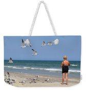 Feeding The Sea Gulls Weekender Tote Bag
