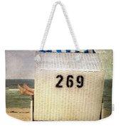 Feet And Beach Chair Weekender Tote Bag by Joana Kruse