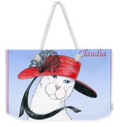 Feline Finery - Claudia Weekender Tote Bag