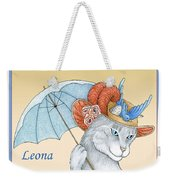 Feline Finery - Leona Weekender Tote Bag