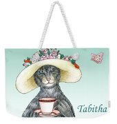 Feline Finery - Tabitha Weekender Tote Bag