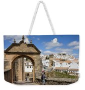 Felipe V Arch In Ronda Weekender Tote Bag