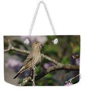 Female Finch Weekender Tote Bag