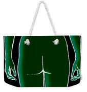 Female, Full Posterior View Weekender Tote Bag