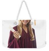 Female Graduate II Weekender Tote Bag