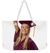 Female Graduate Weekender Tote Bag