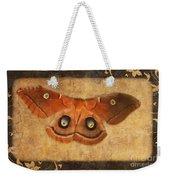 Female Moth Weekender Tote Bag