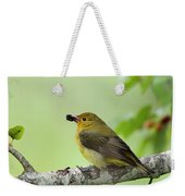 Female Summer Tanager Weekender Tote Bag