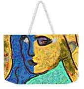 Feminine Kaleidoscope Weekender Tote Bag