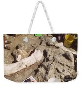 Femur Of Camarasaurus Covered Weekender Tote Bag