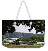 Fence At Appomattox Weekender Tote Bag