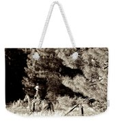 Fence Checkin' Weekender Tote Bag