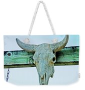 Fence Decor Ranch Style Weekender Tote Bag