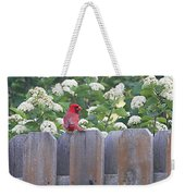 Fence Top Weekender Tote Bag