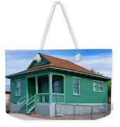 Fenced Yard Weekender Tote Bag