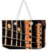 Fender In Brown Weekender Tote Bag