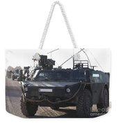 Fennek Armored Reconnaissancd Vehicles Weekender Tote Bag