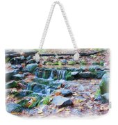 Fern Spring In Autumn Weekender Tote Bag